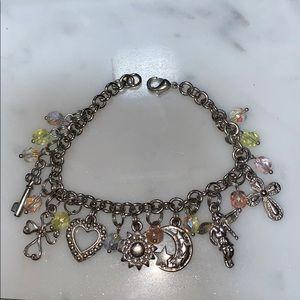 Beautiful Lia Sophia Charm Bracelet
